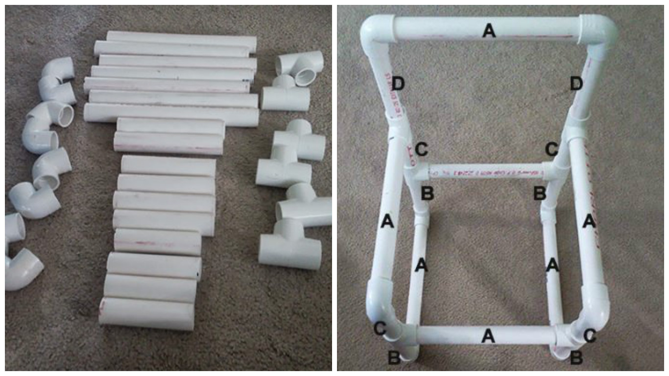 Поделки из пластиковых труб - более 30 фото-идей для дома и дачи 92