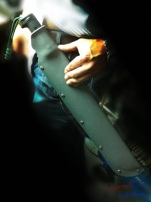 Как сделать ножны из пвх-трубы