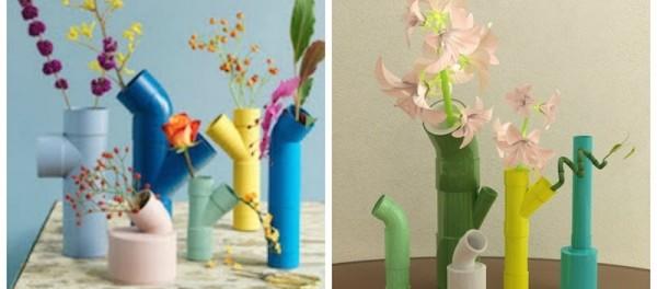 Как сделать самому вазу видео