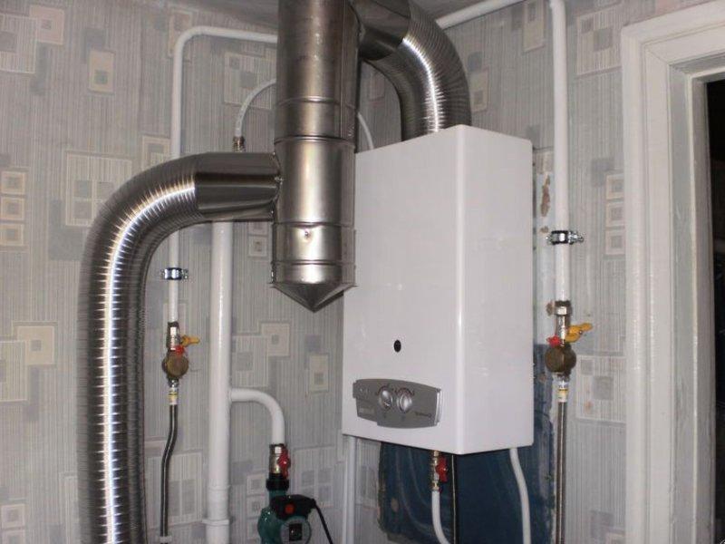 Как правильно дымоход для газовой колонки дымоходы сэндвич 180 мм 230 мм