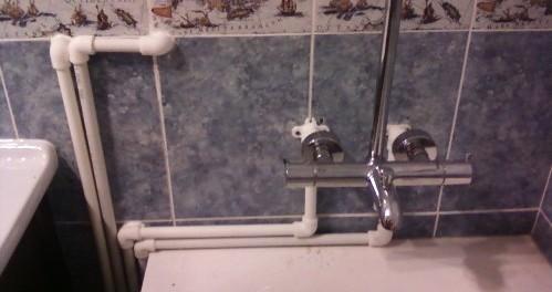 Заменить трубы в ванной своими руками