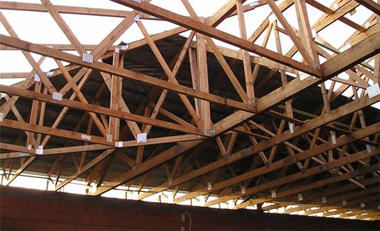 Расчет сечения профильных труб для двухскатной крыши