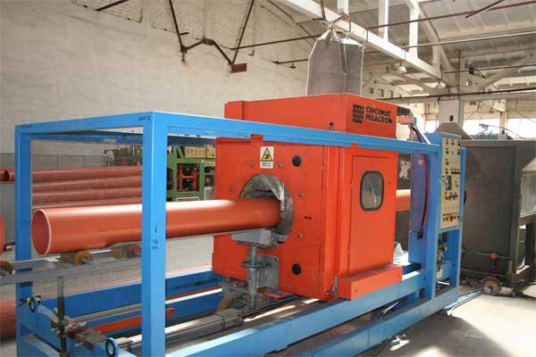 Производство канализационных ПВХ труб