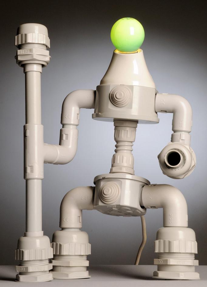 Поделки из водопроводных труб своими руками