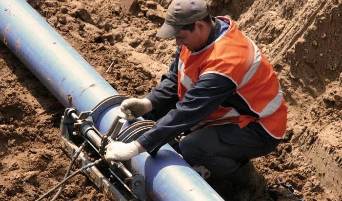 Технология монтажа наружных трубопроводов