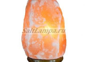 Солевая лампа из гималайского минерала