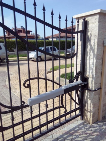 Строительство ворот