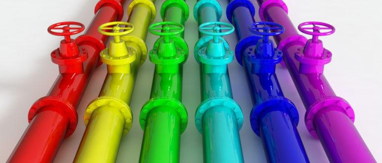 порошковая покраска труб